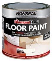 Ronseal Diamond Hard Floor Paint 750ml - Cream